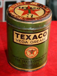 Just A Car Guy : a variety of interesting vintage oil cans from Fifties50s.blogspot.com