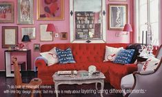 Another mention of my profile of fab decorator Miles Redd