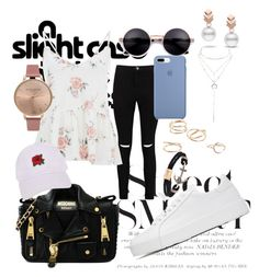 """Change your style!♥️"" by kaoriihayashi on Polyvore featuring Boohoo, Jil Sander, Moschino, MANGO, Armitage Avenue, Charlotte Russe, Olivia Burton and Escalier"