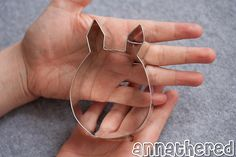 How to make a Totoro cookie cutter / food shaper   Anna The Red · Indie Crafts   CraftGossip.com