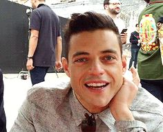 Rami Malek <3 that smile!