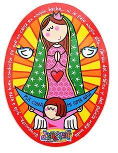 Virgencita de Guadalupe, que sos buena y linda. Siempre lo supe.