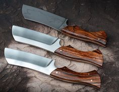 Pretty Knives, Cool Knives, Knives And Tools, Knives And Swords, Blacksmithing Knives, Bushcraft Knives, Tactical Knives, Diy Knife, Knife Art