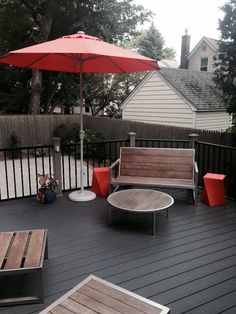 New Deck We Built In Lagrange County IN Used Trex