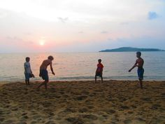 Beach games, Cambodia | Find opportunities to travel and volunteer with www.frontiergap.com | #adventure #travel