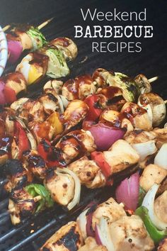 Barbecue recipe ideas from the main dish to salads and BBQ side dishes. All of these recipes are great for a picnic or potluck too!    #barbecue #recipes