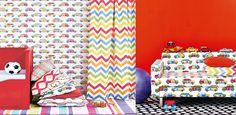 Get Happy Fabrics & Wallpapers from Jane Churchill