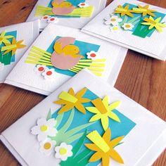 handmade Easter cards