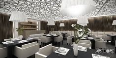 projektowanie wnętrza restauracji interior design Więcej wizualizacji na stronie: http://www.artcoredesign.pl/Projekty/la-dolce-vita-projekt-restauracji/