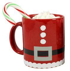 Vinyl Christmas Santa Mug (dollar store mug!)