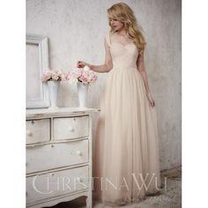 Christina Wu Bridesmaid Dress 22698