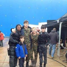 Nadji, Nick,Zackary,Chloe & Maika the 5th wave
