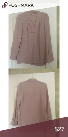 """Vince Camuto Blouse Gorgeous Vince Camuto Blouse, hangs so well and flattering on many sizes. I am bust 36"""" and this is slightly large on me. Nothing wrong with item just cleaning closet. Vince Camuto Tops Blouses"""