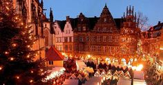 Christmas market in Münster, Germany