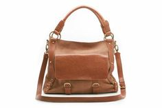 Leather Bags - Temple Beam in Tan Leather from Clarks shoes (I have this in black, C)