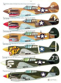 Shark mouth P40's