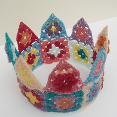 crochet crown ...