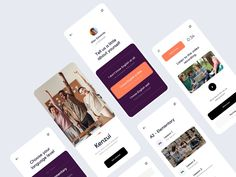 Dashboard Design, Ui Design, New Mobile, Online Courses, How To Look Better, App, Education, Ui Ux, Music