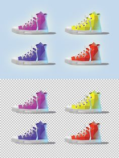 Vector sneakers. Objects. $4.00