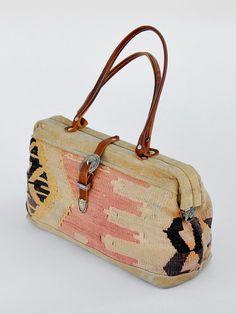 vintage SOUTHWEST KILIM bag from ikahn vintage