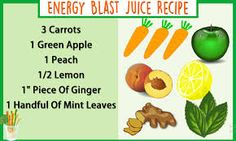 #vegetables #fruits #energy The way to getting energy from your juice is to pick fruits with the most astounding measure of carbohydrates. Fruits are one of the best decisions since 1 glass has..Put your health first and go to https://jtfreshly.worldsecuresystems.com/energy-programme/Vegetables-and-Fruits-to-Juice-for-Energy to read the rest of this article or to select a article from our huge, unique, handpicked range of the most informative, & cutting edge nutritional articles online.