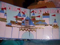 Fantasyland Scrapbook Page