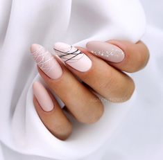 15 shaped stylish nail colors that you can try out .- 15 geformte stilvolle Nagelfarben die Sie zum Probieren inspirieren 15 shaped stylish nail colors to inspire you to try # hair up - Stylish Nails, Trendy Nails, Elegant Nails, Classy Nails, Cute Acrylic Nails, Cute Nails, Matte Nail Art, Pink Nails, Gel Nails