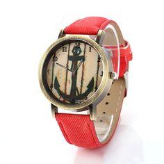 Denim-Look Watch