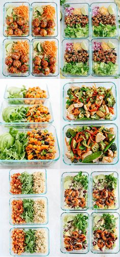 Quick and easy meal prep recipes that you can make ahead for the week that are healthy, delicious and all under 30 minutes! Quick and easy meal prep recipes that you can make ahead for the week that are healthy, delicious and all under 30 minutes! Meal Prep Bowls, Easy Meal Prep, Easy Healthy Dinners, Easy Healthy Recipes, Healthy Food, Healthy Weekly Meal Prep, Easy Healthy Meal Plans, Meal Prep Menu, Meal Preparation