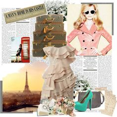Travel, created by chloe-valentine on Polyvore