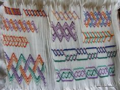 Twisted Cables sampler completed in Judith Marquis workshop