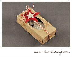 STAMPIN' UP! Teelichtverpackung mit Festive Flurry