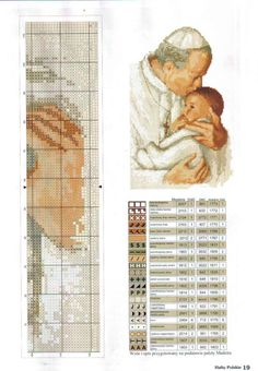 Pope John Paul II with child