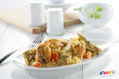 Receta de arroz con pollo Cuk