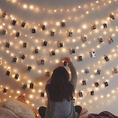LED Photo Clip String Lights Holder Fairy Lights for Hanging Photos Pictures Cards Memos, RGB Warm White Decoration Light Teen Bedroom, Room Decor Bedroom, Bedroom Ideas, Diy Bedroom, Teen Bed Room Ideas, Teenage Girl Room Decor, Magical Bedroom, Vintage Bedroom Decor, Teenage Girl Bedrooms