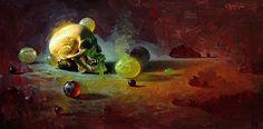 The Maker by David Cheifetz Oil ~ 12 x 24