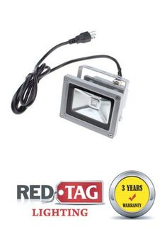 10W LED Flood Light Lamp Cool White Garden Outdoor IP65 Waterproof by Redtag Lighting. $18.99. Description: Color: Gray Shell Material : High Strength Aluminum  Cover Material: 5mm High Strength Glasses LED Emitter Power: 10W  Lifespan Time : > 60,000 hours  Work Voltage : 85~265V Packing size:12*9.3*9.7cm Application: Play Grounds, Front or Back Yards; Advertisement Billboard; Construction Building, Garden High efficiency LED making light energy-saving, environmentally f...