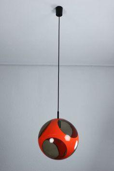 Luigi Colani; Plastic Ceiling Light, c1970.