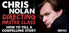 Christopher Nolan is by far one of the greatest directors of his generation. In this masterclass he takes you through how to direct your first feature film.