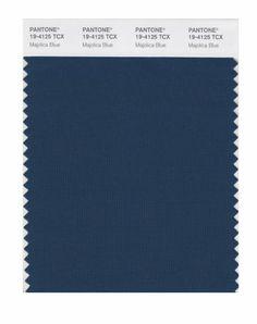 PANTONE SMART 19-4125X Color Swatch Card, Majolica Blue - Amazon.com