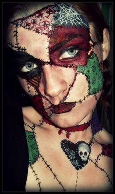 Halloween Make Up Ideas Cool Halloween Makeup, Pretty Halloween, Halloween Cosplay, Halloween Make Up, Halloween Ideas, Halloween Circus, Halloween Costumes, Witch Costumes, Haunted Halloween