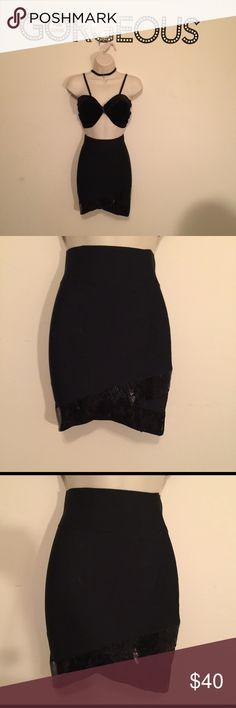 Black BCBG Maxazria High Waisted Pencil Skirt Black BCBG Maxazria High Waisted Pencil Skirt Size: X- Small  Brand: BCBG Maxazria BCBGMaxAzria Skirts Pencil