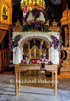 great friday russian orthodox - Google Search Greek Easter, Church Flowers, Russian Orthodox, Orthodox Christianity, Holy Week, Friday, Google Search, Decorating, Lent