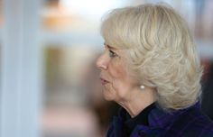 Camilla, Duchess of Cornwall during an official visit to The London Book Fair at Earls Court on April 9, 2014 in London
