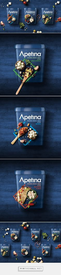 Apetina Redesign – Packaging of the World – Creative Package Design Gallery – w … - Advertising Design