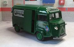 Fourgon Byrrh Citroën HY Van Free Vehicle Paper Model Download