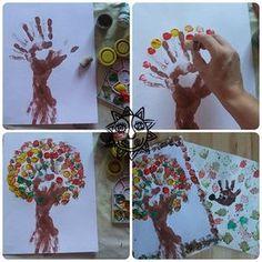 vyrábíme s dětmi podzim - Hledat Googlem Tree Crafts, Diy And Crafts, Crafts For Kids, Arts And Crafts, Baby Games, Art School, Preschool Activities, Art Education, Art For Kids