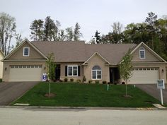 The summerbrooke patio home by pellis construction 440 for Home builders greensburg pa