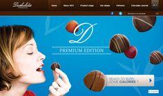 Daskalidès webdesign ranks high #chocolate #webdesign #css #design #web #html5