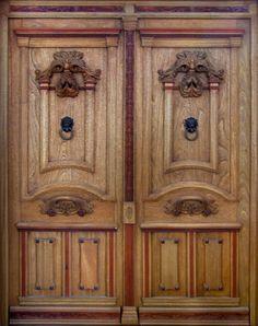 Puertas portones on pinterest puertas principal and antigua - Portones de madera antiguos ...